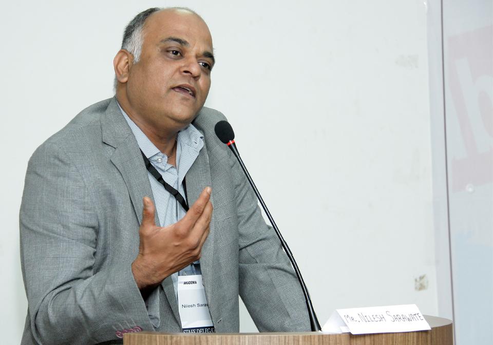 Chief Mentor Nilesh Sarawate